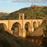 Puente de Alcántara en Extremadura