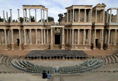 Baños Romanos Alange:Rutas Históricas Extremadura