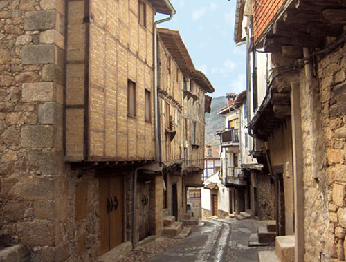 San Martín de Trevejo calles
