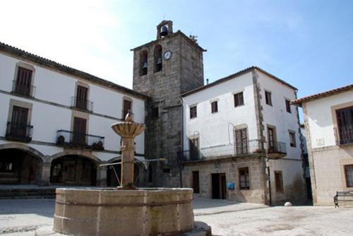 San Martín de Trevejo plaza