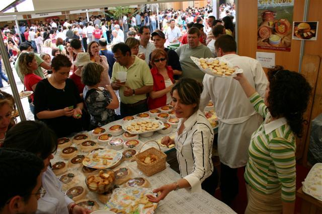 Feria del queso. Trujillo